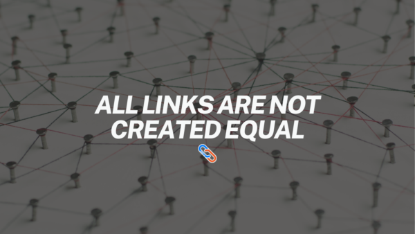 all-links-are-not-created-equal